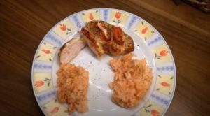 Hähnchenbrustfilet mit Tomate Mozzarella