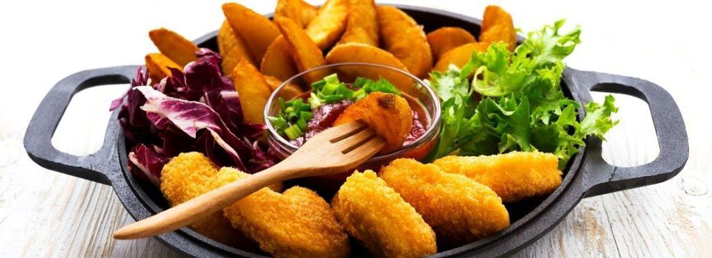 Speisen aus der Heißluftfritteuse