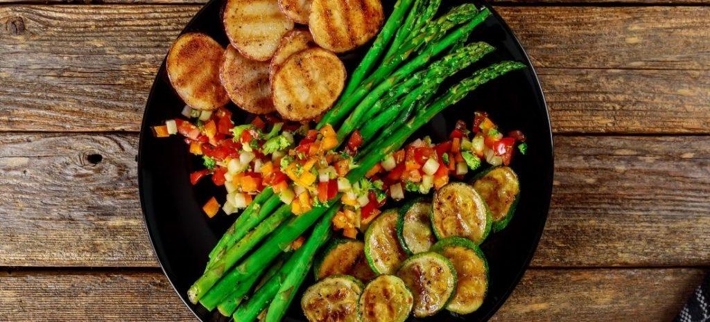 Bei Heißluftfritteusen Rezepten sind auch verschiedene Gemüse möglich