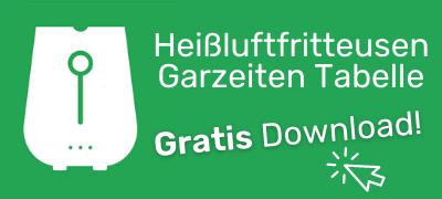 heißluftfritteuse garzeiten tabelle download