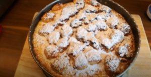 Pudding-Streusel-Kuchen aus der Heißluftfritteuse