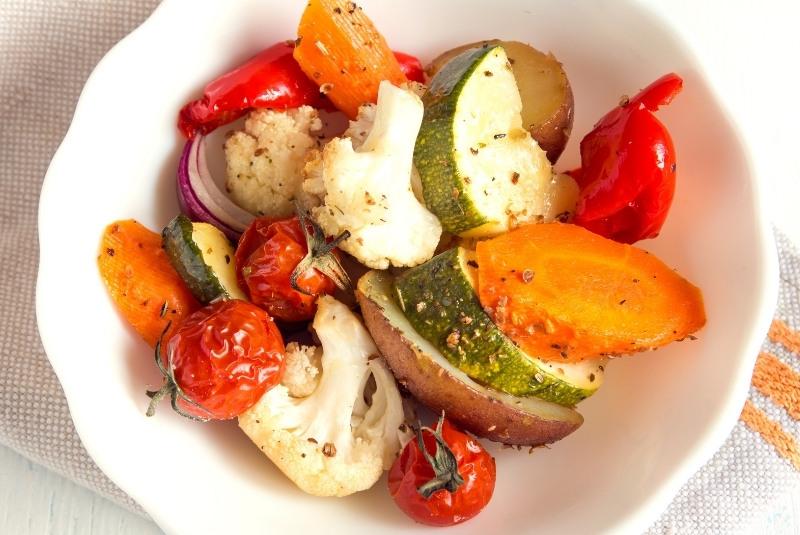 ofengemüse aus der heißluftfritteuse
